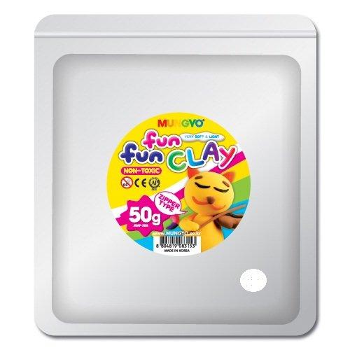 Mungyo Fun Fun Clay - White (50gms)