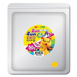 Mungyo Fun Fun Clay - Yellow (50gms)