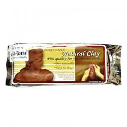 NARA air hardening Clay - Teracotta (500 gms)