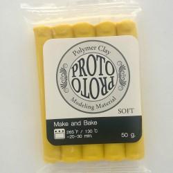 Proto Make and Bake Polymer Clay (50 gms) - Yellow