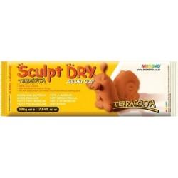Mungyo Sculpt Dry - Terracotta Air Dry Clay (500gm)