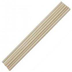 Wooden Dowels/ Round craft sticks - Thin (12 inch)