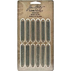 Tim Holtz ideaology Word Bands - Life