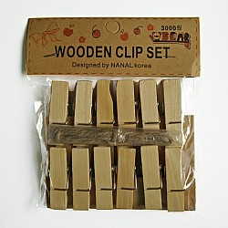 Wooden Clips - Big
