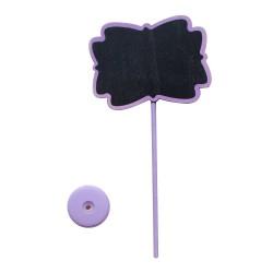 Wooden Plant Marker - Violet