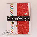 "CrafTangles Scrapbook Paper Pack - Birthday Wishes (6""x6"")"
