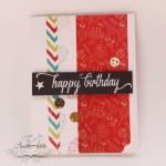 CrafTangles Scrapbook Paper Pack - Birthday Wishes (6x6)