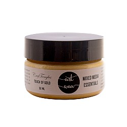 CrafTangles mixed media Essentials - Art Waxes - Touch of Gold (50 ml)