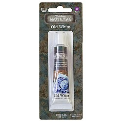 Prima Marketing Finnabair Art Alchemy Matte Wax .68 Fluid Ounce - Old White