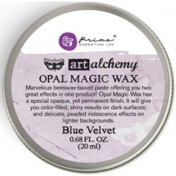 Finnabair Art Alchemy Opal Magic Wax .68 Fluid Ounce - Blue Velvet (By Finnabair)