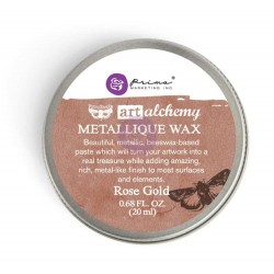 Prima Art Alchemy Antique Brilliance Wax .68 Fluid Ounce - Rose Gold (By Finnabair)