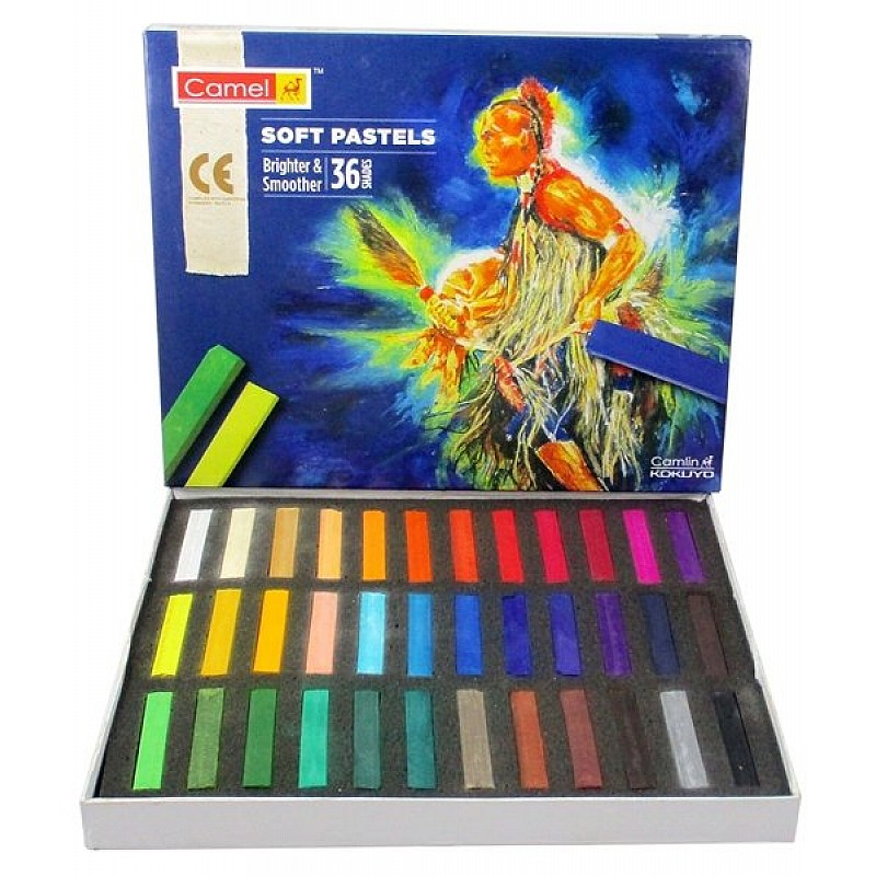 Buy Camel Soft Pastels Set Of 36 Colors Online In India