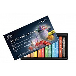 Mungyo Gallery Artist's Soft Oil Pastels Set of 12
