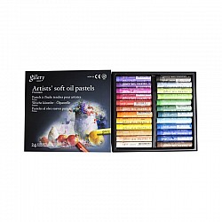 Mungyo Gallery Artist's Soft Oil Pastels Set of 24