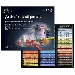 Mungyo Gallery Artist's Soft Oil Pastels Set of 48