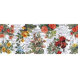 TimHoltz IdeaOlogy Collage Paper 6yds - Floral