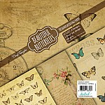 CrafTangles Decoupage Paper Pack  - Beautiful Butterflies (12 by 12 inch) - 4 sheets