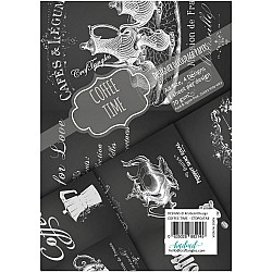 CrafTangles Decoupage Paper Pack  - Coffee Time (A4) - 4 sheets