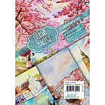 CrafTangles Decoupage Paper Pack  - Everyday Places 2 (A4) - 4 sheets