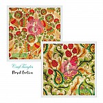 CrafTangles Decoupage Paper Pack  - Floral Exotica (12 by 12 inch) - 4 sheets