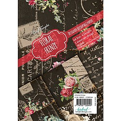 CrafTangles Decoupage Paper Pack  - Floral Frenzy (A4) - 4 sheets
