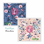 CrafTangles Decoupage Paper Pack  - Flower Power (12 by 12 inch) - 4 sheets