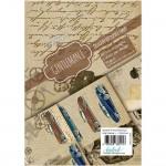 CrafTangles Decoupage Paper Pack  - Gentleman 1 (A4) - 4 sheets
