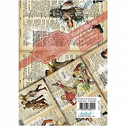 CrafTangles Decoupage Paper Pack  - Glory Days (A4) - 4 sheets