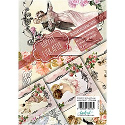 CrafTangles Decoupage Paper Pack  - Happily Ever Affter (A4) - 4 sheets