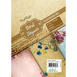 CrafTangles Decoupage Paper Pack  - Floral Elegance (A4) - 4 sheets