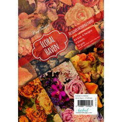 CrafTangles Decoupage Paper Pack  - Floral Haven (A4) - 4 sheets