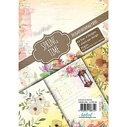 CrafTangles Decoupage Paper Pack  - Spring Time (A4) - 4 sheets