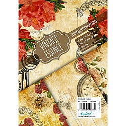 CrafTangles Decoupage Paper Pack  - Vintage Essence (A4) - 4 sheets