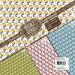 CrafTangles Decoupage Paper Pack  - Vintage Florals (12 by 12 inch) - 4 sheets