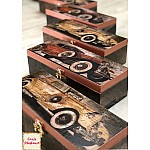 CrafTangles Decoupage Paper Pack  - Vintage Cars 1 (A4) - 4 sheets