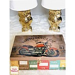 CrafTangles Decoupage Paper Pack  - Good Old Days (12 by 12 inch) - 4 sheets