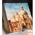 CrafTangles Decoupage Paper Pack  - Everyday Places (12 by 12 inch) - 4 sheets