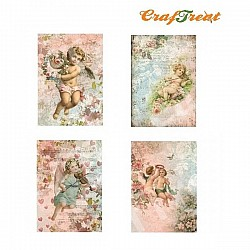 CrafTreat Decoupage Paper - Angels Set 1
