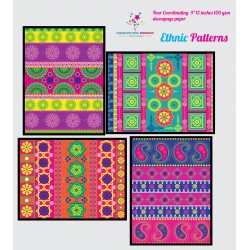 Nakshathra Designz Decoupage paper - Ethnic Patterns