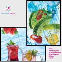 Nakshathra Designz Decoupage paper - Food 1