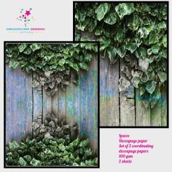 Nakshathra Designz Decoupage paper - Leaves