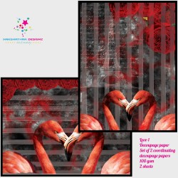 Nakshathra Designz Decoupage paper - Love 1
