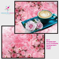 Nakshathra Designz Decoupage paper - Love 2