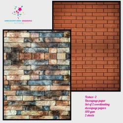 Nakshathra Designz Decoupage paper - Texture 2