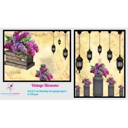 Nakshathra Designz Decoupage paper - Vintage Blossoms