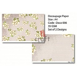 Rice Paper Pack A4 - Deco 006