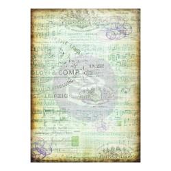Prima Marketing Finnabair Mixed Media Tissue Paper 27.5X19.7 6/Pkg - Musica