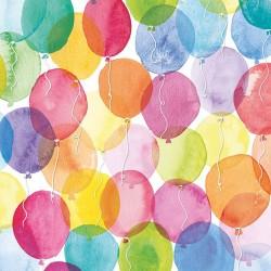 German Decoupage Napkins (5 pcs)  - Colorful Balloons