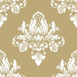 German Decoupage Napkins (5 pcs)  - Barok Gold