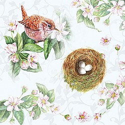 German Decoupage Napkins (5 pcs)  - Watching Nest